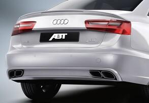 Диффузор с глушителями ABT для Audi S6 4G