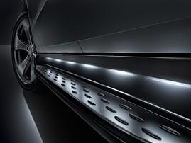 Оригинальные пороги для Mercedes GLE Coupe C292
