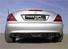 Диффузор заднего бампера Piecha Design для Mercedes SLK R171 с 05/08