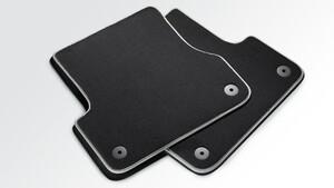 Задние велюровые коврики Premium для Audi A6 4G
