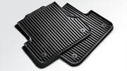 Задние резиновые коврики для Audi A6 4G