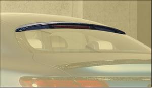 Спойлер на стекло Mansory для Mercedes S-Class Coupe