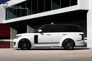 Карбоновые боковые накладки Lumma для Range Rover Vogue