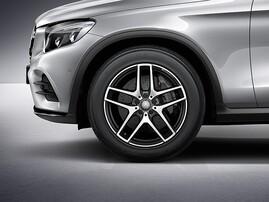 19'' Литой диск AMG для Mercedes GLC X/C253