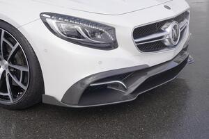 Передний бампер Mansory для Mercedes S63 Coupe