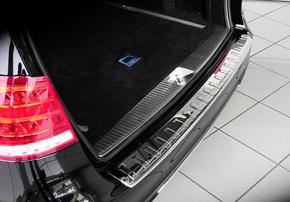 Защитная накладка заднего бампера Schatz для Mercedes E-Class S212 с 04/2013