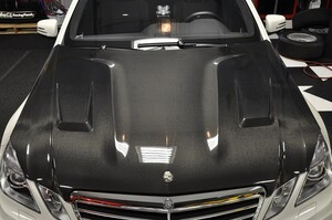Карбоновый капот для Mercedes E-Class W212 до 04/2013