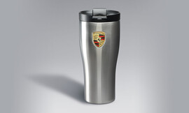 Термокружка Porsche серебристая