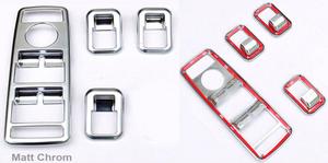 Хромированные накладки интерьера Schatz для Mercedes