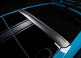 Карбоновый спойлер крыши Techart для Porsche 991