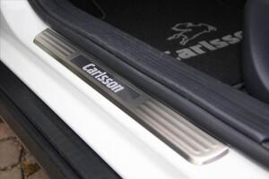Накладки на пороги Carlsson для Mercedes GLA X156