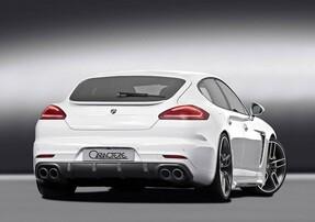 Диффузор Caractere для Porsche Panamera