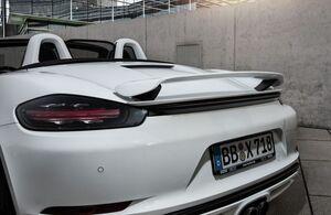 Спойлер Techart для Porsche Boxter 718