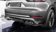 Диффузор Techart для Porsche Cayenne E3