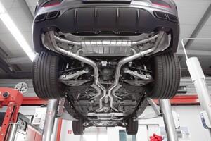 Выхлопная система Capristo для Mercedes GLE63S C292