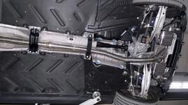 Выхлопная система Capristo для Mercedes CLA45 AMG