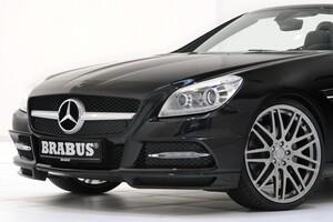 Накладка переднего бампера Brabus для Mercedes SLK R172