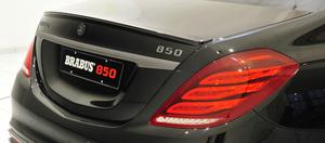 Карбоновый спойлер Brabus для Mercedes S-Class W222