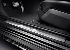 Накладки на пороги AMG для Mercedes C205 C238