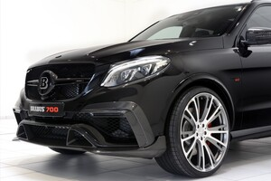 Карбоновые накладки на воздуховоды Brabus для Mercedes GLE63 AMG W166