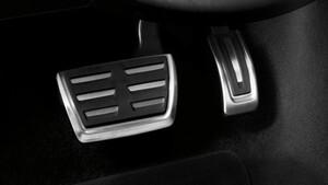 Накладки на педали АКПП для Audi
