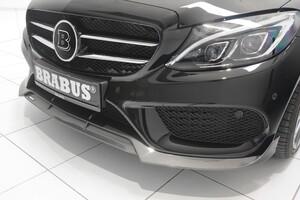 Передняя накладка Brabus для Mercedes C-Class W205