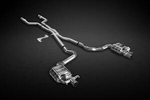 Система выхлопа Capristo для Mercedes C63 AMG W205