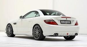 Задний диффузор Brabus для Mercedes SLK R172