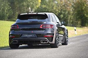 Задний бампер Mansory для Porsche Macan