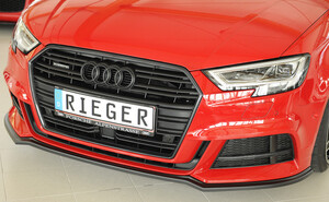 Передний сплитер Rieger для Audi A3 8V