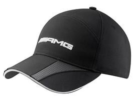 Черная бейсболка AMG