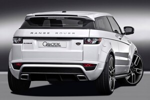 Задний бампер Caractere для Range Rover Evoque