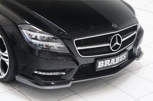 Накладка переднего бампера Brabus для Mercedes CLS C218