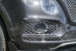 Карбоновые накладки на бампер Mansory для Bentley Bentayga