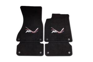 Велюровые коврики ABT для Audi A8 4H