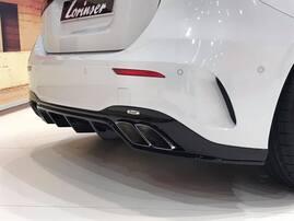 Накладка заднего бампера Lorinser для Mercedes W177