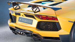 Задний бампер Hamann для Lamborghini Aventador
