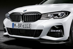 Решетка радиатора Shadowline для BMW G20 3-серия