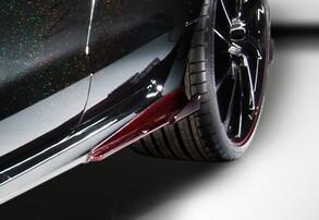 Накладки на пороги ABT для Audi RS6 4G