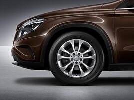 17'' Литой диск для Mercedes GLA X156