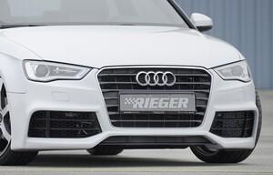 Передний бампер Rieger для Audi A3 8V