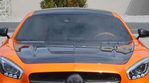 Карбоновый капот Mansory для Mercedes GT AMG