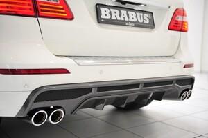 Задний диффузор Brabus для Mercedes ML W166