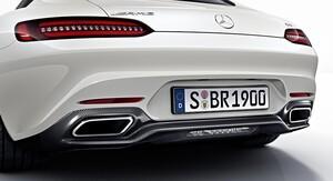 Карбоновый диффузор AMG для Mercedes AMG GT / GTS