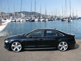 Накладки на пороги Hofele для Audi A8 4H