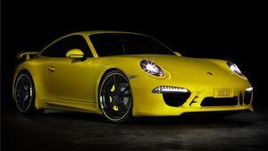 Боковые пороги Techart для Porsche 991 Carrera