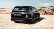 Задний бампер Hamann для Range Rover Vogue