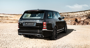 Задний бампер Hamann для Range Rover Vogue