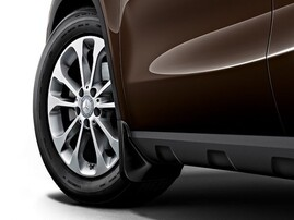 Задние брызговики для Mercedes GLA X156