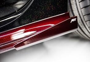 Плавники порогов ABT для Audi RS6 4G